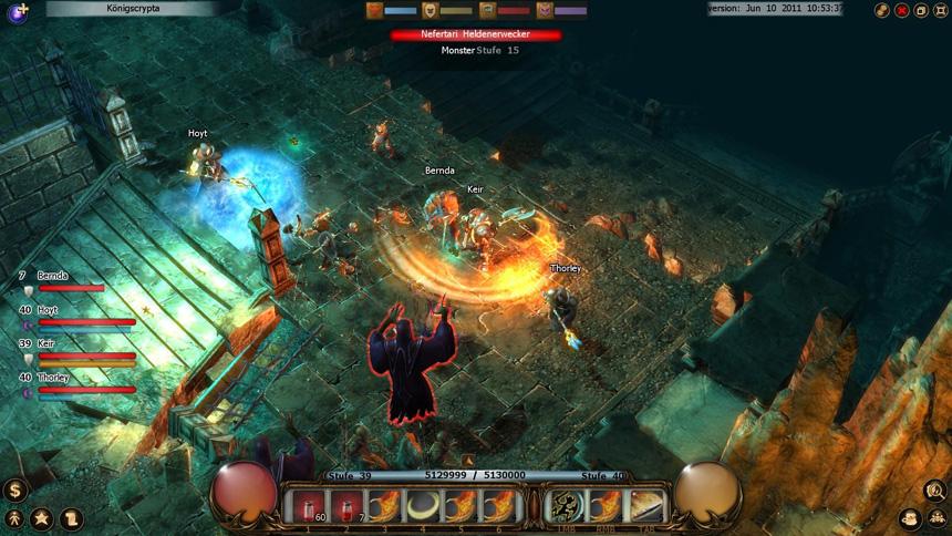 Drakensang online - Ukázka ze hry 1