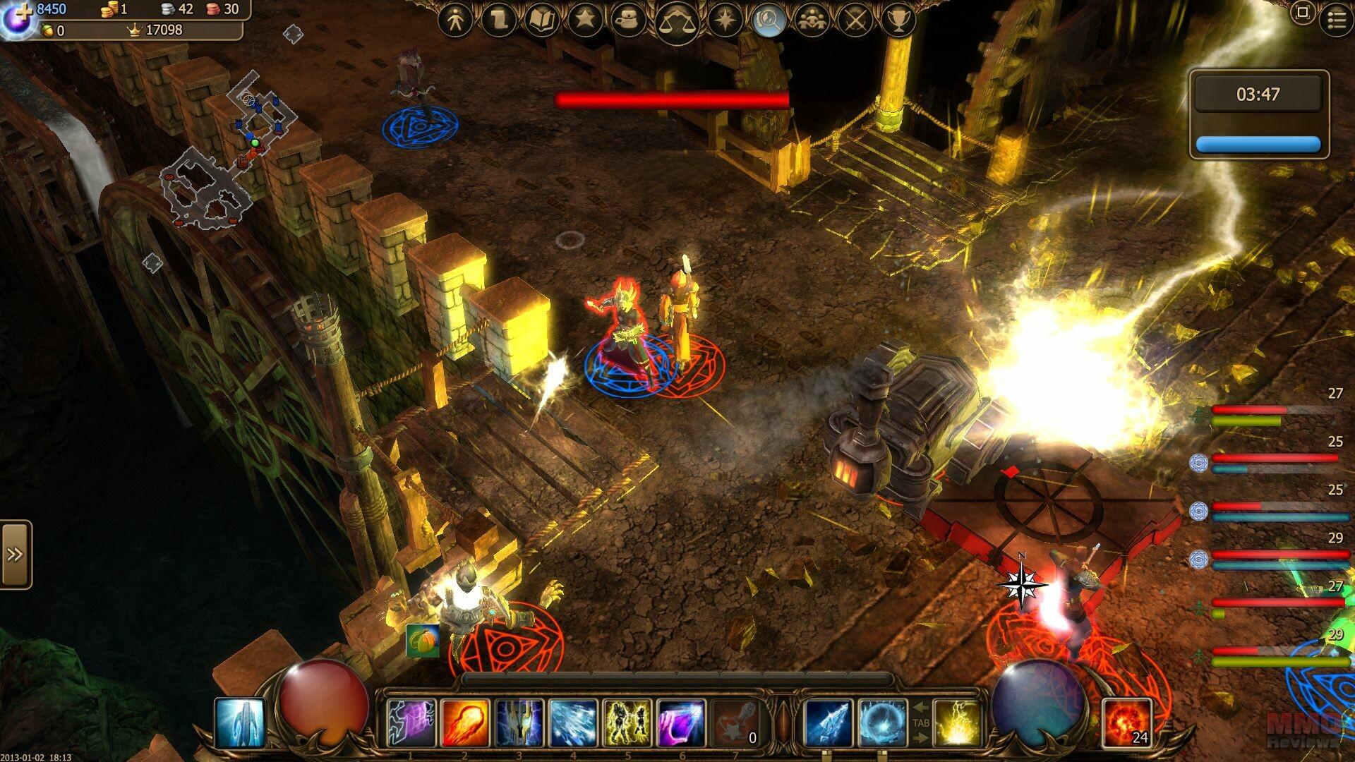 Drakensang online - Ukázka ze hry 2