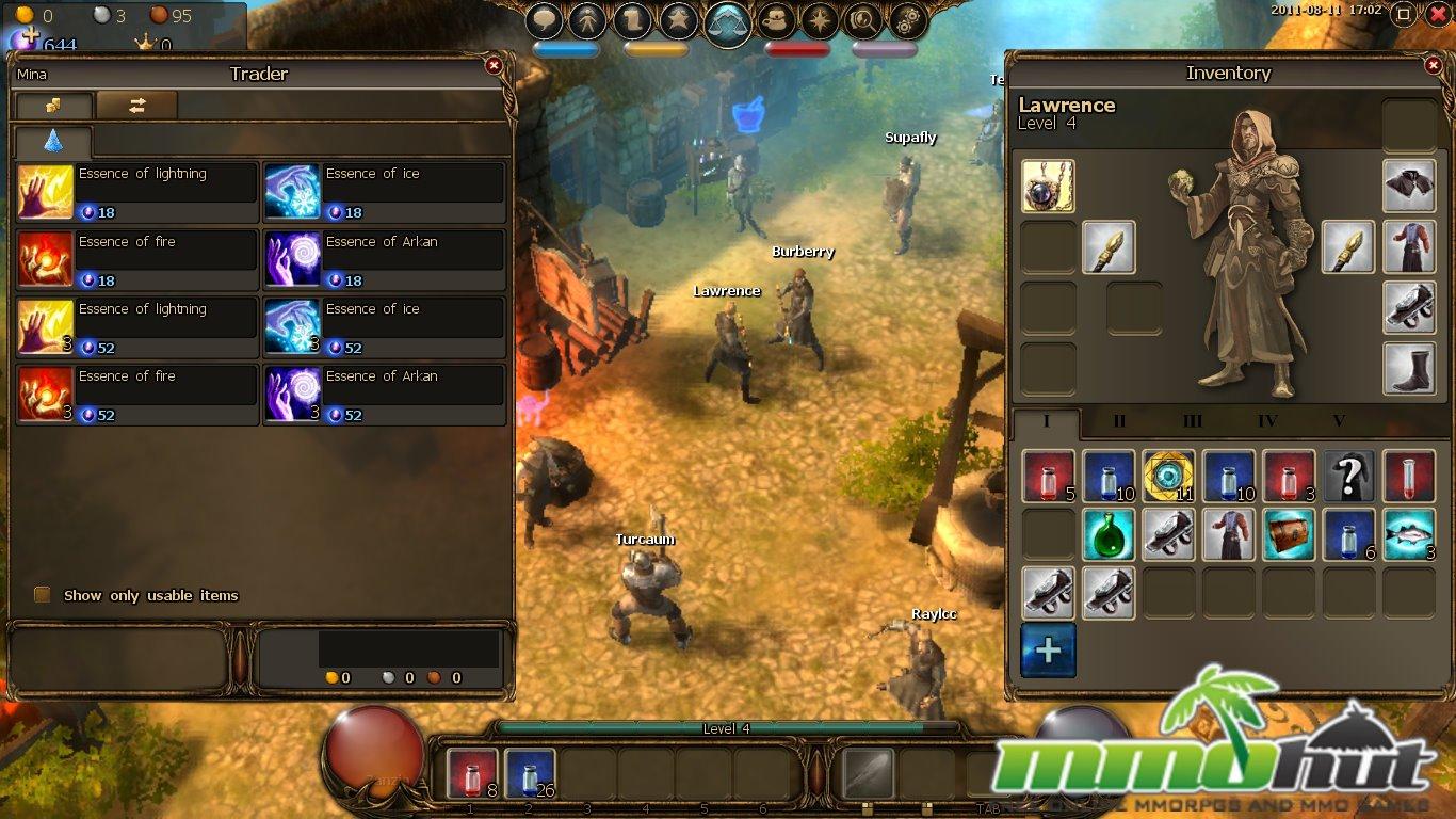Drakensang online - Ukázka ze hry 4