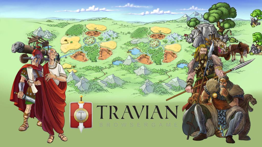 Travian - Buď dobrým vládcem a vybuduj velkolepou říši