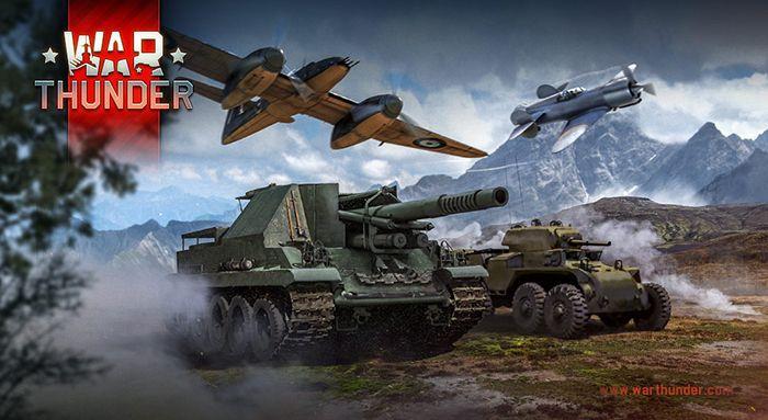 War Thunder - Bojový letecký a tankový simulátor na PC